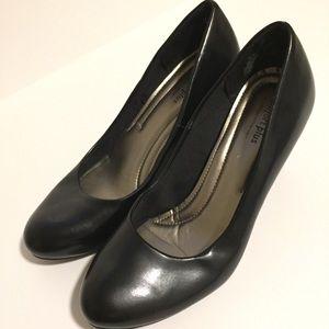 Comfort Plus Black Heels | 8.5